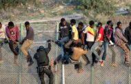 نزوح ناجح لأكثر من :  230 مهاجرا من أفريقيا جنوب الصحراء إلى مليلية المحتلة