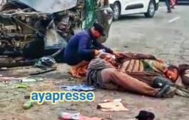 مصرع شخصين بحادثةسير خطيرة وقعت ما بين زاوية سيدي اسماعيل و المصور راسو