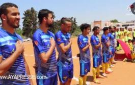 جمعية السلام تنضم صبحية رياضية لكرة القدم لفائدة اليافعين و الشباب بسلا المازة