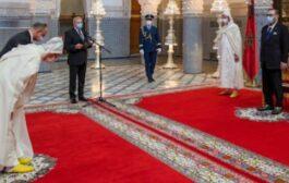 جلالة الملك يشرف على تعيين وكلاء و قضاة و رؤساء محاكم جدد