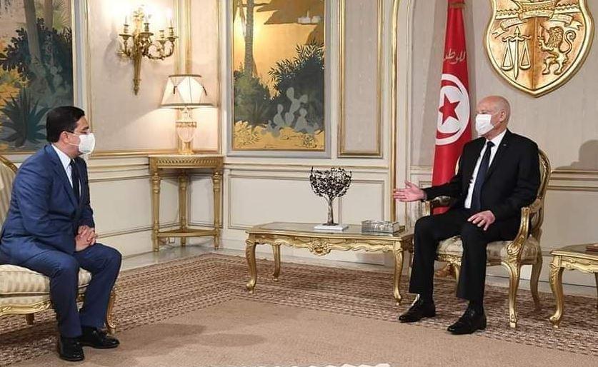الرئيس التونسي يستقبل وزير الخارجية حاملا رسالة من الملك محمد السادس