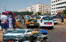 حادثة سير خطير بحي أناسي الدار الببضاء