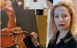 الفنانة التشكيلية كميليا الزرقاني .. إحساس إبداعي ولوحات في غاية الجمال