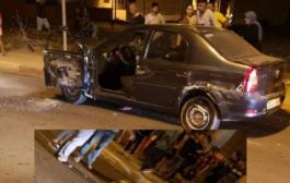 حادثة سير خطيرة و مميتة بشاراع طارق إبن زياد بتمارة و الجاني لاذ بالفرار