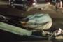 حادثة سير خطيرة راح ضحيتها حيصان على إثر اصطدام مع سيارة خفيفة قرب محطة ولاد زيان بالدار البيضاء