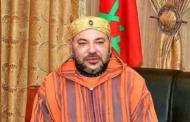 الملك يرسل برقية تهنئة للملك سلمان بمناسبة العيد الوطني السعودي.
