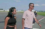 وصول كريستيانو رونالدو إلى المغرب