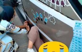 حادثة سير خطيرة طرام يدحس شابة بمحطة الامم المتحدة 'الرباط'